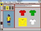 SimTown Windows 3.x Customizing your character