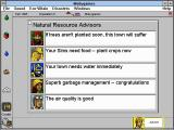 SimTown Windows 3.x Advisors