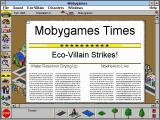 SimTown Windows 3.x Newspaper