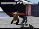Kensei: Sacred Fist PlayStation Hyoma vs Steven Seagal look-alke Douglas