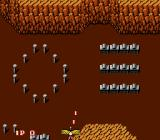 Legendary Wings NES Odd structures on the ground