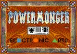 PowerMonger SEGA CD Title screen
