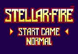 Stellar-Fire SEGA CD Main menu