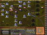 Wargame Construction Set III: Age of Rifles 1846-1905 DOS Antietam scenario - Main game screen