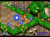 Sonic 3D Blast Windows Giving 50 rings to Knuckles opens the special stage