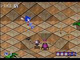 Sonic 3D Blast Windows Shields protect Sonic, but it's still a shame to lose one over a poorly timed jump