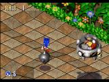 Sonic 3D Blast Windows The first boss