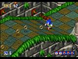 Sonic 3D Blast Windows Fire is easy to avoid, unless Sonic has a lot of flickies tailing