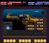 Revolution X SNES Helicopter chase level.