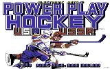 Powerplay Hockey Commodore 64 Title screen