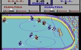 Powerplay Hockey Commodore 64 But this time it's a goal, and you see the crowd going wild.