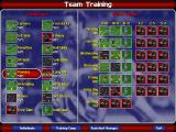 Ultimate Soccer Manager 98 Windows Setting training.