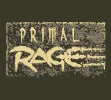 Primal Rage Game Boy Title Screen