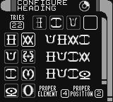 Star Trek: Generations - Beyond the Nexus Game Boy Find the correct combination