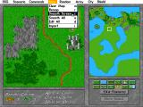 Warlords II Scenario Builder DOS ...and letting the program smooth them into a handsome landscape.