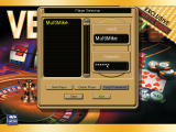 Vegas Fever Winner Takes All Windows Player login screen (password-protected to guard user's imaginary bank account)