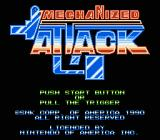 Mechanized Attack NES Title screen