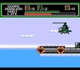 Mechanized Attack NES The first level boss -- a helicopter