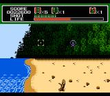 Mechanized Attack NES Landing on the island for the invasion