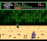 Mechanized Attack NES Some of these soldiers are actually robots when you blast away the skin