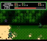 Mechanized Attack NES Moving from the beach to the forest