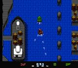 Eliminator Boat Duel NES Racing through a busy district