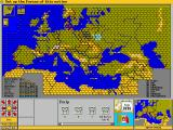 Third Reich DOS Map - full view