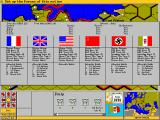 Third Reich DOS Basic Resource Points (BRPs) per nation
