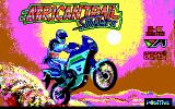African Trail Simulator DOS Title screen (EGA)