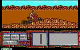 African Trail Simulator DOS Going up a hill (EGA)