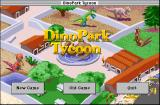 Dinopark Tycoon Macintosh Title screen