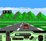 Formula One: Built to Win NES Starting line at a Detroit race course