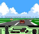 Formula One: Built to Win NES Cruising a Miami course