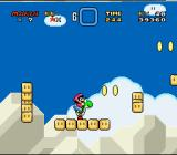 Super Mario World SNES Some platforms expand and contract