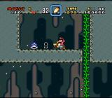 Super Mario World SNES Bring a key to a keyhole for a secondary stage exit