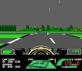 Nigel Mansell's World Championship Racing NES Qualifying on the Monaco track, in the rain