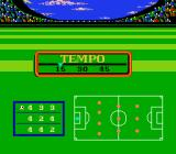 Futebol NES Selecting period duration and team formation.