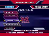 Dance Dance Revolution Windows The Workout Mode lets you choose how many calories you want to burn, or how long you want to play.