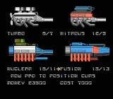 Death Race NES Engine options available