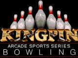 Kingpin: Arcade Sports Bowling DOS Title screen