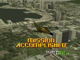 Ace Combat 2 PlayStation Mission accomplished.