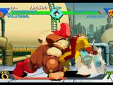 X-Men vs. Street Fighter PlayStation Juggernaut tries to injury Sabretooth with his ground-shaking move Juggernaut Punch, but he fails...