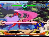 X-Men vs. Street Fighter PlayStation To hit-stop Magneto's Strong Punch, Cyclops takes full advantage of his high-range move Optic Blast.