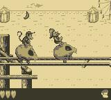 Donkey Kong Land 2 Game Boy Going for a ride