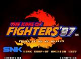 The King of Fighters '97 Neo Geo Title screen