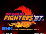 The King of Fighters '97 Neo Geo Title screen (Japanese version)