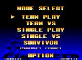 The King of Fighters '97 Neo Geo Main menu