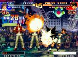 The King of Fighters '97 Neo Geo Athena Asamiya striking back Sie Kensou: this time, he couldn't block her SDM Phoenix Fang Arrow...