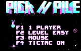 Pick 'n Pile DOS Start menu (CGA)