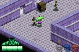 The Incredible Hulk Game Boy Advance Breaking out of the detention center.